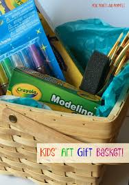 gift baskets for kids mini monets and mommies kids supply gift basket