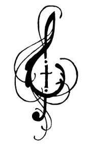 tribal musical note personalized temporary tattoos customize your