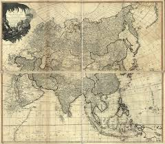Political Map Asia by In High Resolution Old Political Map Of Asia 1799 Old Maps Of