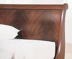 Mahogany Sleigh Bed Chambord Flame Mahogany Sleigh Bed Charles P Rogers Beds