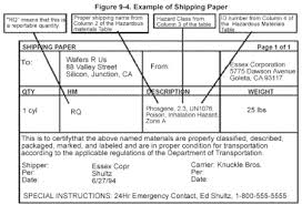 hazardous materials classification table hazardous materials transportation act wikipedia