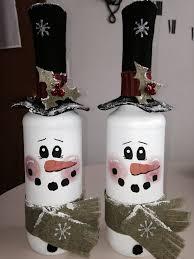 25 diy snowman craft ideas u0026 tutorials painted wine bottles
