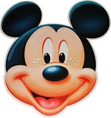 coloring pages cute face mickey mouse friends masks 6