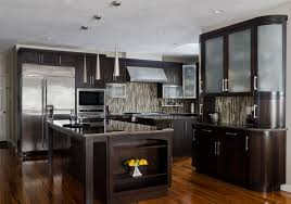 Modern Kitchens Cabinets Kitchen Cabinet Ideas With Wooden Floor And Glass Table