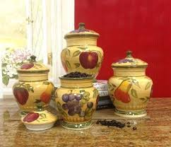 tuscan style kitchen canister sets tuscan kitchen canisters tuscan style kitchen canister sets