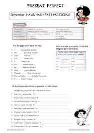 printable worksheets english tenses present perfect tense printable worksheet google search english
