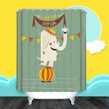 Curtain Cartoon by Animal Carnival Unique Bathroom Shower Curtain Unique Curtain