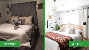 Before And After Bedroom Makeover Pictures - bland bedroom turned scandi sleep sanctuary angie u0027s list