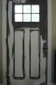 Paint Front Door Updating The Entryway With Sherwin Williams Iron Ore Little