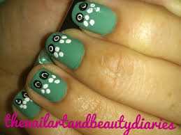 easy owl nail art u2013 easy nail art