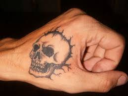 34 best skull hand tattoo designs images on pinterest skulls