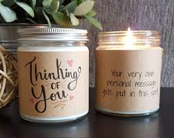 personalize candles personalized candle etsy
