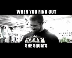Squat Meme - broblems finding out she squats the venicity gym memes in real