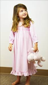 inc clothing pink houndstooth smocked nightgown threads inc