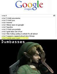 What If I Told You Potato Meme - zelda meme by ringmastersword memedroid