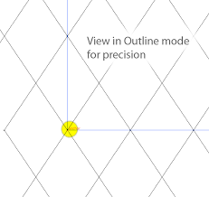 pattern drawing illustrator quick tip make a seamless argyle pattern