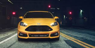 ford focus st yellow 2017 ford focus st unstoppable performance ford com