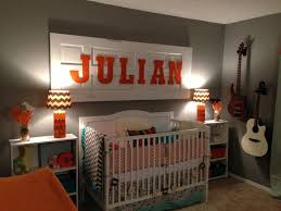 Orange And White Bedroom Exquisite Nursery In Peach Blossom And White Is Perfect For Baby