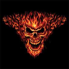 skull t shirts raging inferno flaming skull t shirt design