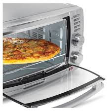 Pizza Oven Toaster Amazon Com Oster Tssttvskbt 6 Slice Large Capacity Toaster Oven