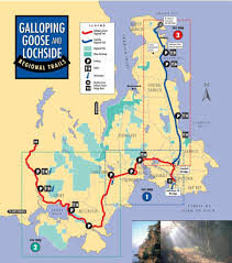 Victoria Bc Map Galloping Goose Trail