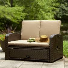 All Weather Wicker Loveseat Benches Sofas U0026 Loveseats Loveseat Sears
