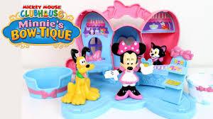 minnie s bowtique minnie mouse disney play set bowtique clubhouse minnie s pet