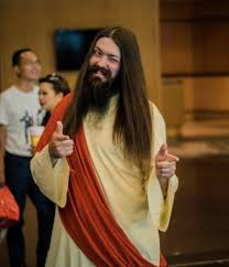 Jesus Halloween Costume Jesus Cosplay Halloween Long Hair Costume Guys Long Hair