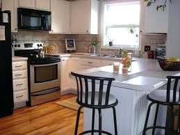 Painted Black Kitchen Cabinets Before And After Painting Wood Kitchen Cabinets Before And After Painting Wood