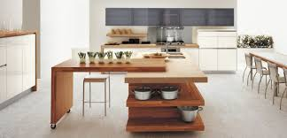 kitchen cute open plan white wood kitchen modern kitchen table