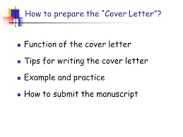 cover letter u201d u0026 how to submit the manuscript pin ling 凌 斌