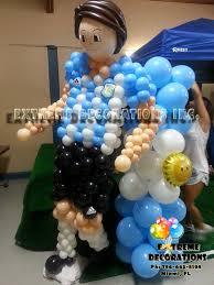 sports argentinian soccer player balloon sculpture decoracion