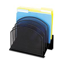 Desk Filing Organizer Mesh File Organizers By Safco Onyx Ontimesupplies