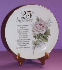25th anniversary plates 34 best anniversary wedding decor gifts images on