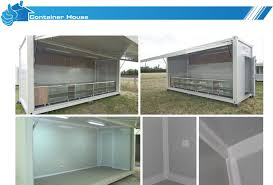 movable 20ft commercial shipping container shop mordern art