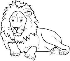 lion coloring pages u2013 vonsurroquen