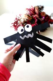 halloween spiders crafts easy spider craft for preschoolers diy