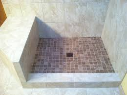 Installing Tile Shower Pan Shower How To Install Universalhower Base Installing