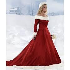 color wedding dresses custom made winter a line the shoulder fur taffeta unique