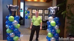 Seahawks Decorations Balloons Nj Balloon Decorations 732 341 5606