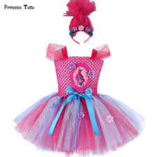 aliexpress com buy troll poppy tutu dress baby tulle