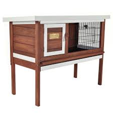 Rabbit Shack Hutch Prevue Pet Rabbit Hutch Hayneedle