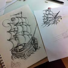 instagram media by misshellcarter ship sketch and drawing for