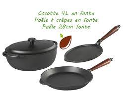 ustensiles de cuisine en fonte ustensiles en fonte pour cuisson saine produits écologiques