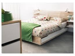 Modern Wood Bed Frame Bedroom Beautiful White Grey Wood Modern Design Sale Beds
