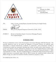 audit memo template u2013 10 free word excel pdf documents download