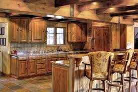 Rustic Kitchen Design Images Refined Rustic Interior Exterior Traditional Kitchen Salt