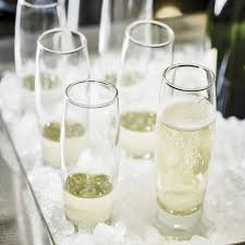 stemless champagne flutes durobor bubble stemless champagne flute glass from palmers
