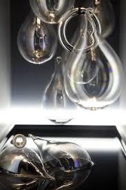 glass teardrop ornaments iridescent 3 pcs diy