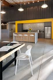 contemporary office space in california blends creativity with